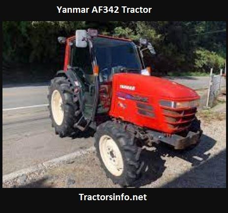 Yanmar AF342 Tractor Price, Specs, Features