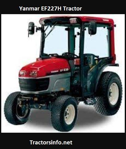 Yanmar EF227H Tractor Price, Specs, Features