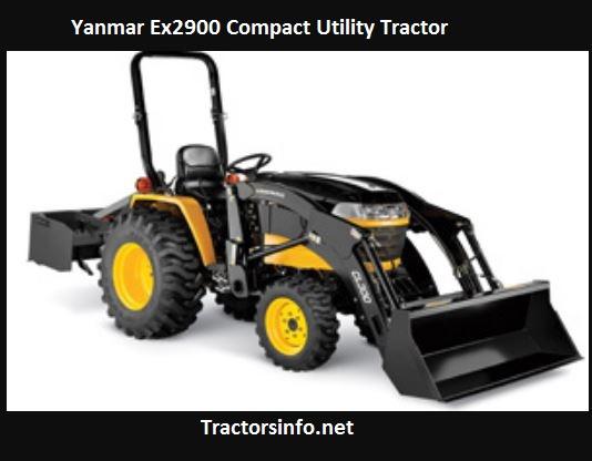 Yanmar Ex2900 Price, Specs, Review, Attachments