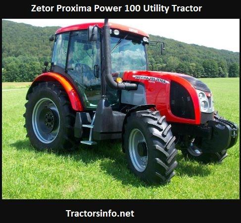 Zetor Proxima Power 100 Price, Specs, Attachments