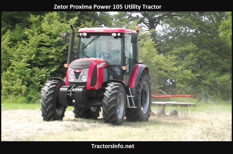 Zetor Proxima Power 105 Price, Specs, Review
