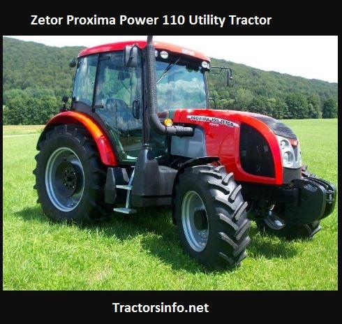 Zetor Proxima Power 110 Price, Specs, Features