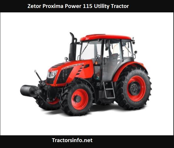 Zetor Proxima Power 115 Price, Specs, Review