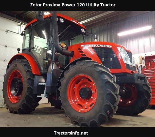 Zetor Proxima Power 120 Price, Specs, Review