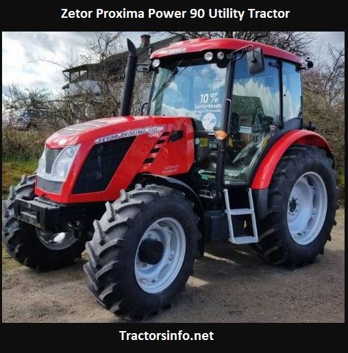 Zetor Proxima Power 90 Price, Specs, Attachments