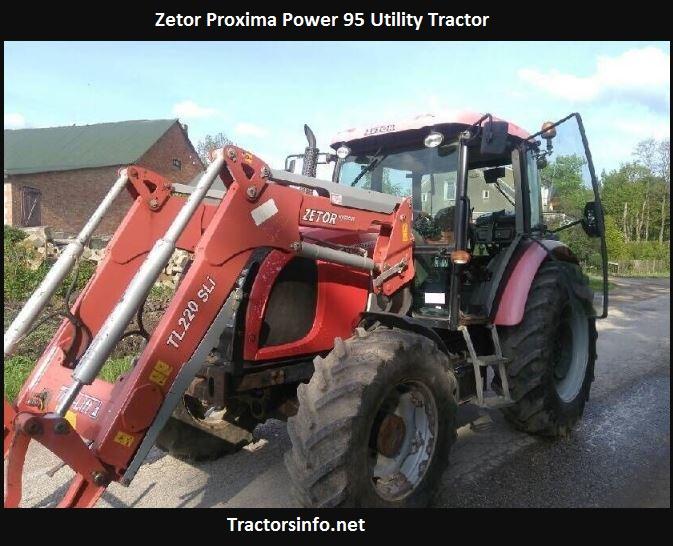 Zetor Proxima Power 95 Price, Specs, Features