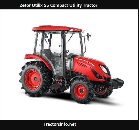Zetor Utilix 55 Price, Specs, Horsepower, Review