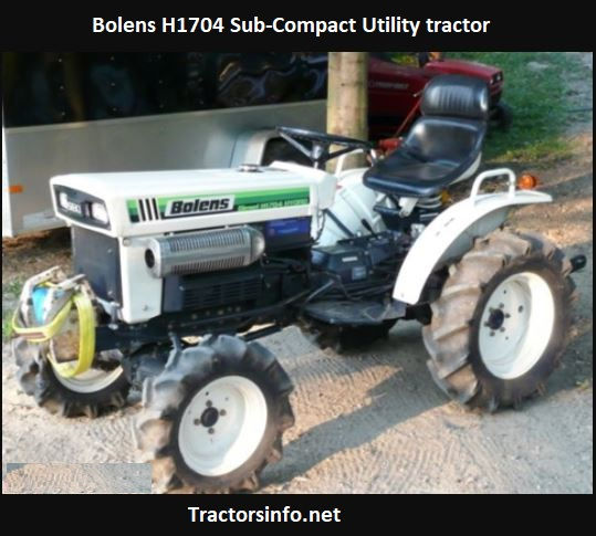 Bolens H1704 Tractor Price, Specs, Review