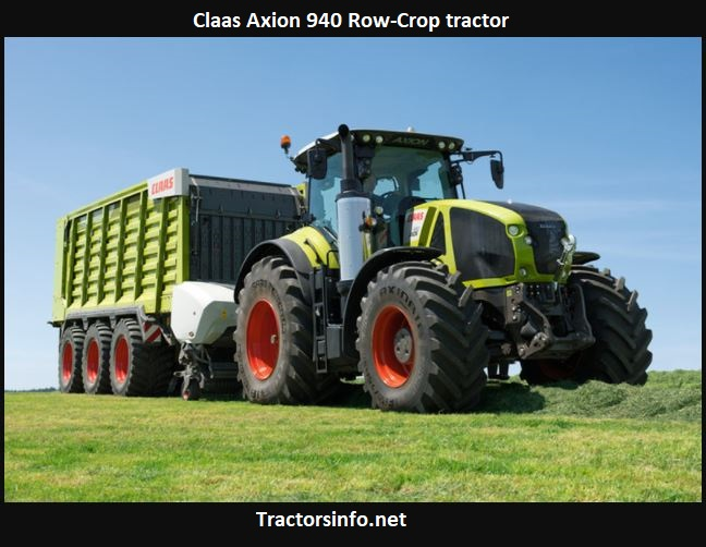 Claas Axion 940 Row-Crop Tractor Price, Specs, Review