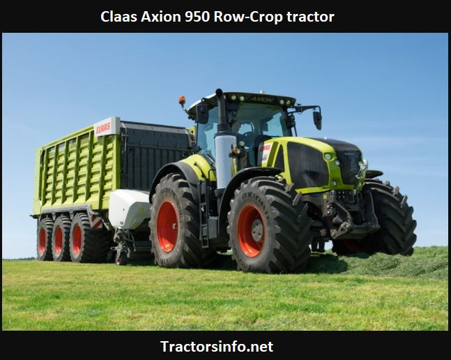 Claas Axion 950 Tractor Price, HP, Specs, Review