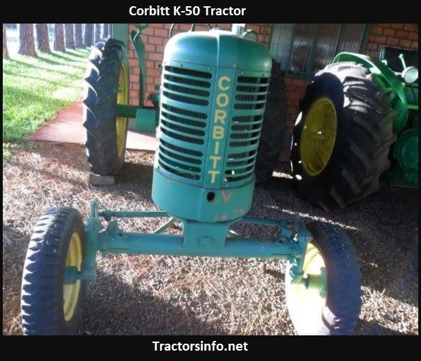 Corbitt K-50 Tractor Price, Specs, Images