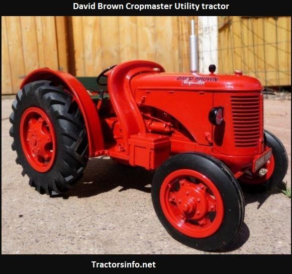 David Brown Cropmaster Tractor Specs, Price, Review