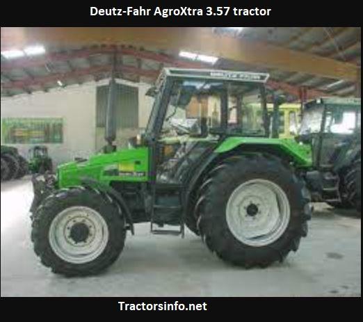 Deutz-Fahr AgroXtra 3.57 Price, Specs, Review