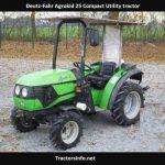 Deutz-Fahr Agrokid 25 Price, Specs, Review, Horsepower