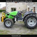 Deutz-Fahr Agrokid 40 Tractor Price, Specs, Review