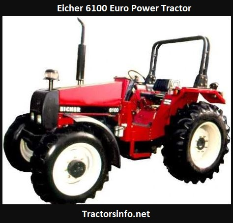 Eicher 6100 Euro Power Tractor Price, Specs Review