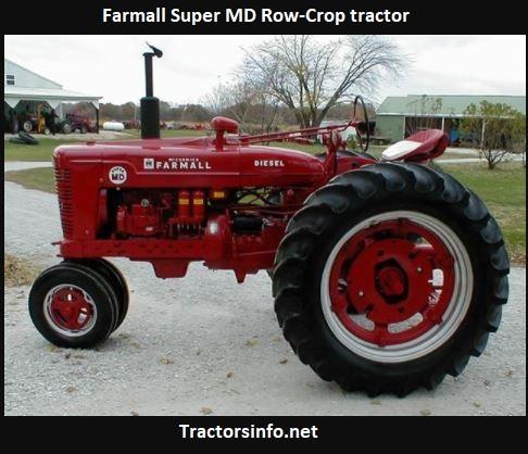 Farmall Super MD Tractor Price, Specs, Review