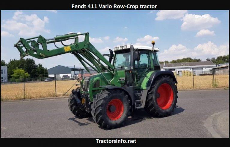 Fendt 411 Vario Tractor Price, Specs, Review, Attachments