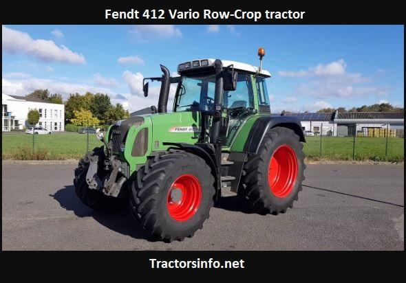 Fendt 412 Vario Tractor Price, Specs, Review, Attachments