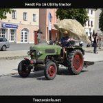 Fendt Fix 16 Utility Tractor Price, Specs, Review