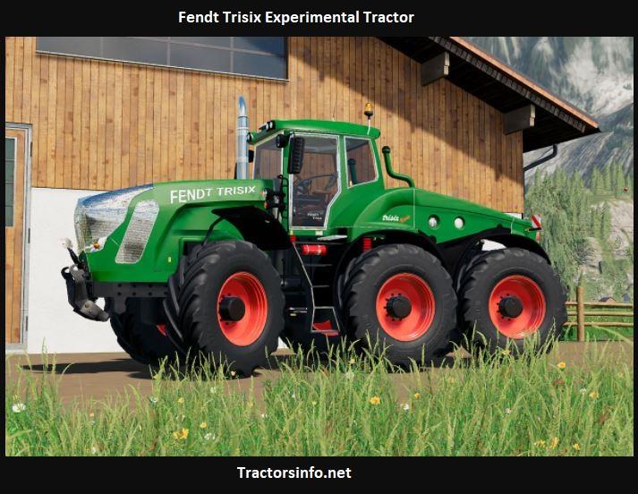 Fendt Trisix Experimental Tractor Price, Specs, Review, Horsepower