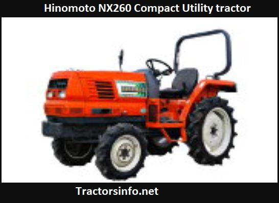 Hinomoto NX260 Price, Specs, Review, Features
