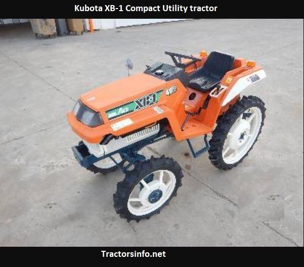 Kubota XB-1 Price, Specs, Review, Features