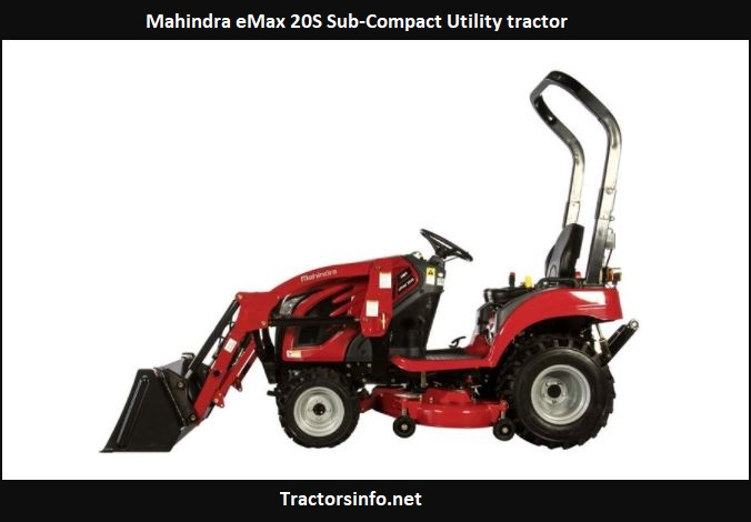 Mahindra eMax 20S Price, Specs, Review, Attachments