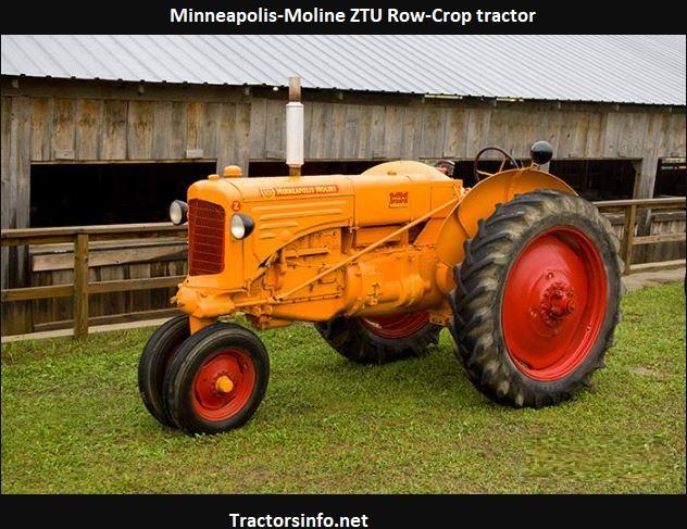 Minneapolis-Moline ZTU Price, Specs, Serial Numbers
