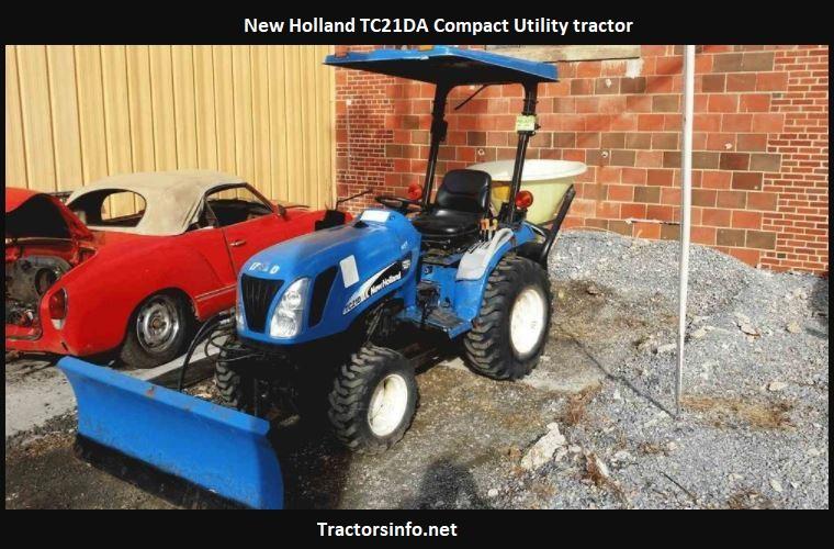 New Holland TC21DA Price, Specs, Review, Attachments