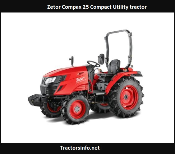 Zetor Compax 25 Price, Specs, Review, Features