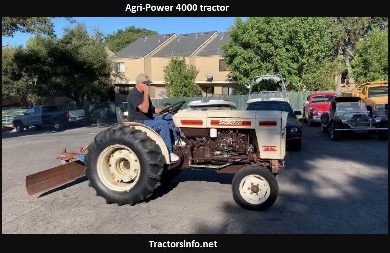 Agri-Power 4000 Tractor Price, Specs, Horsepower