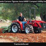 Antonio Carraro Tigrone Jona 6400F Price, Specs, Features