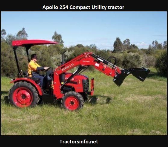 Apollo 254 Tractor Price, Specs, Review, Attachments
