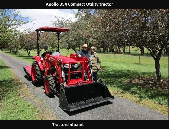 Apollo 354 Tractor Specs, Price, Review, Attachments