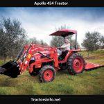 Apollo 454 Tractor Price, Specs, Review, Attachments