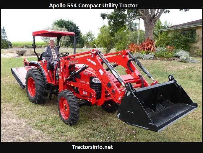 Apollo 554 Compact Utility Tractor Price, Specs, Review, Attachments