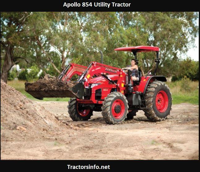 Apollo 854 Utility Tractor Price, Specs, Review, Attachments