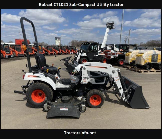 Bobcat CT1021 Price, Specs, Review, Attachments