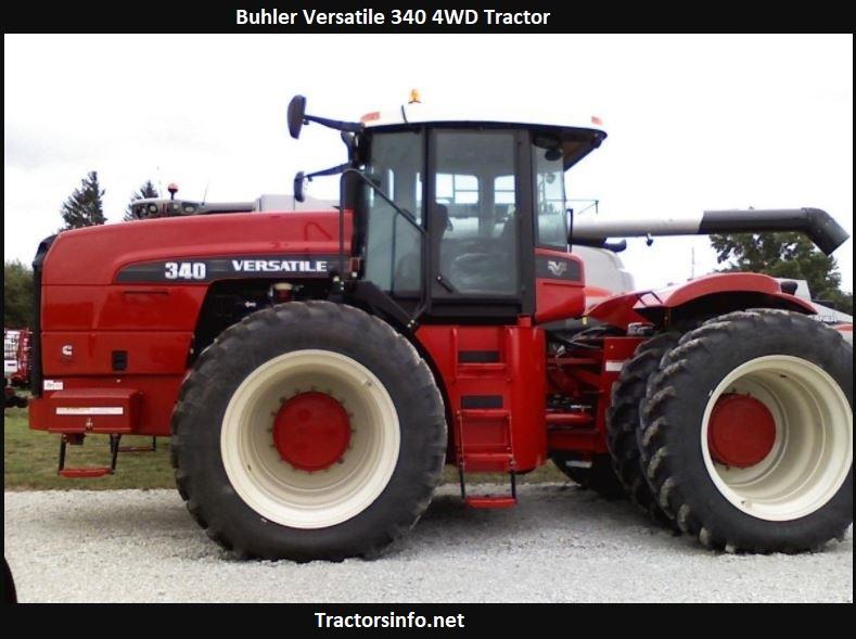 Buhler Versatile 340 4WD Tractor Price, Specs, Review