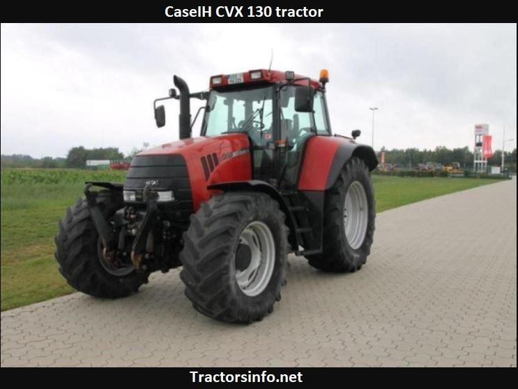 CaseIH CVX 130 Tractor Price, Specs, Review+