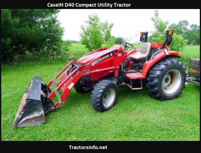 CaseIH D40 Compact Utility Tractor Price, Specs, Attachments