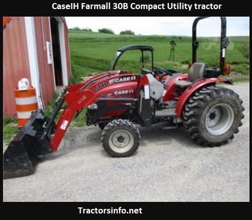 CaseIH Farmall 30B Price, Specs, Review, Attachments