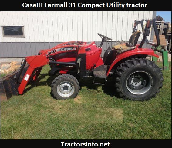 CaseIH Farmall 31 Specs, Price, Review, Attachments