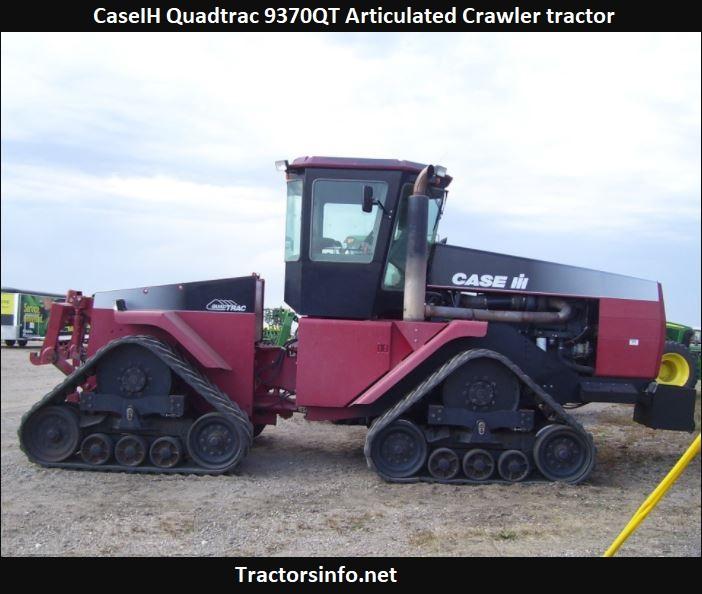 CaseIH Quadtrac 9370QT Articulated Crawler tractor Price, Specs, Review
