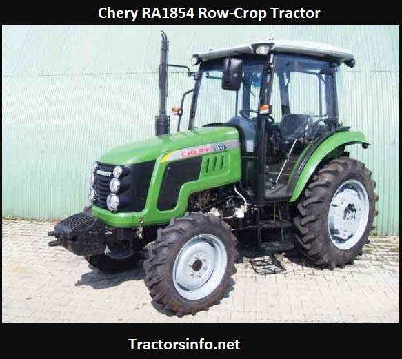 Chery RA1854 Row-Crop Tractor Price, Specs, Reviews