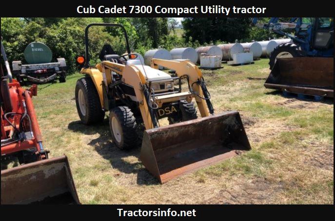 Cub Cadet 7300 Price, Specs, Review, Attachments