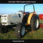 Cub Cadet 7360 Price, Specs, Review, Attachments