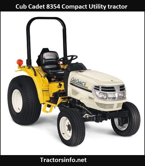 Cub Cadet 8354 Compact Utility tractor Price, Specs, Review