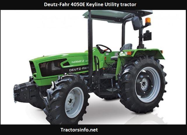 Deutz-Fahr 4050E Keyline Utility tractor Price, Specs, Review